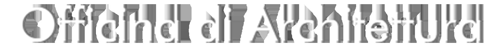 Officina di architettura officina di architettura for Logo sito internet
